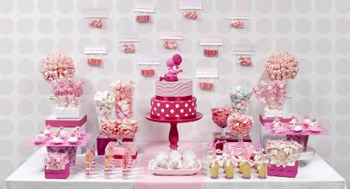 Candy bar - Ideas para decorar mesas de chuches ...